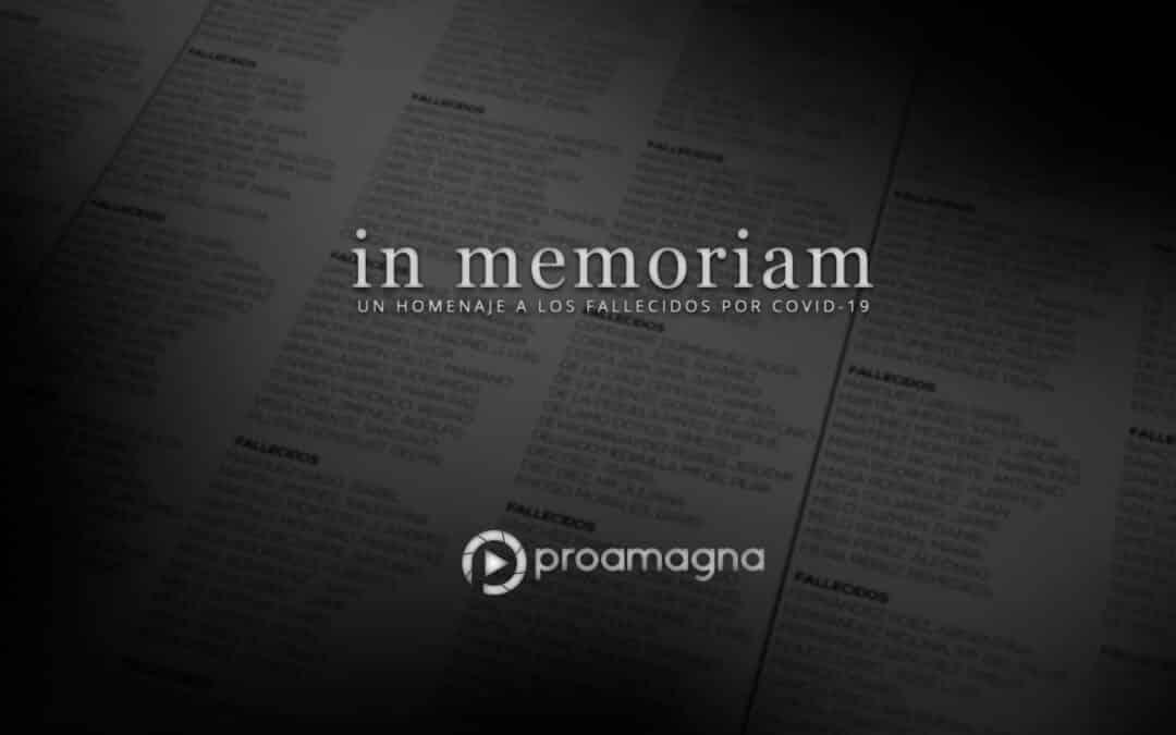 Rendimos homenaje a los fallecidos por Covid-19