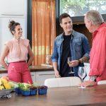 Christian Gálvez y Almudena Cid se sientan por primera vez juntos en un programa de televisión y visitan Mi casa es la tuya