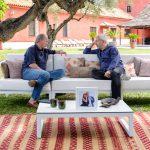 Carlos Sobera reparte amor en el próximo programa de 'Mi casa es la tuya'