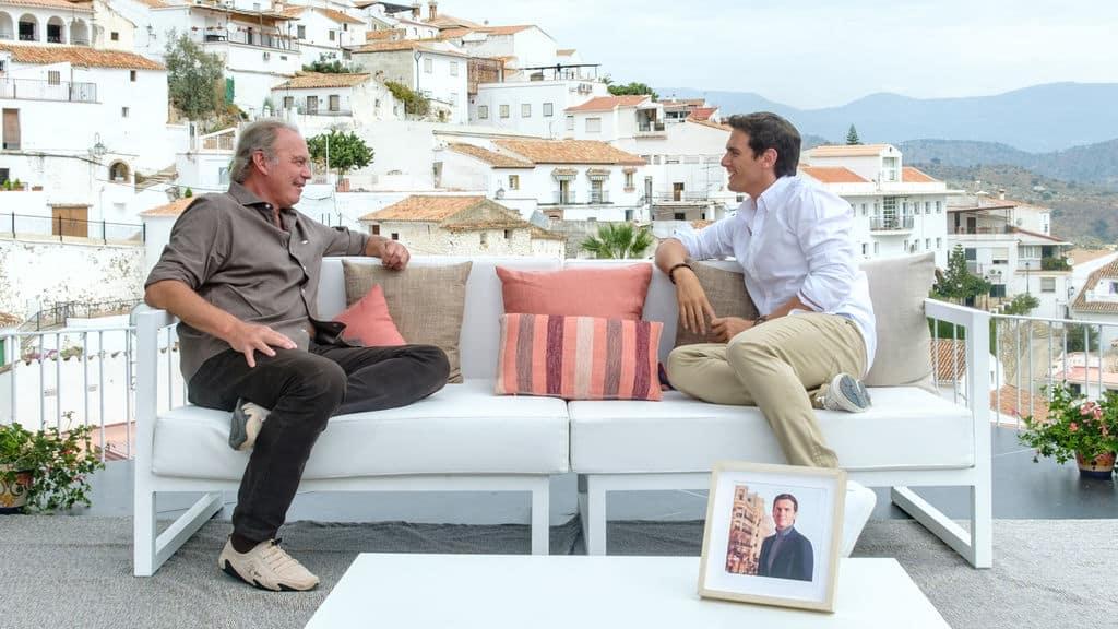 Bertín Osborne viaja a la Axarquía malagueña para entrevistar a Albert Rivera, en 'Mi casa es la tuya'