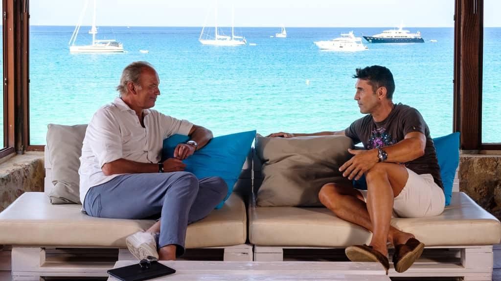 Bertín Osborne viaja a Formentera para entrevistar a Jesús Vázquez en la nueva entrega de 'Mi casa es la tuya'