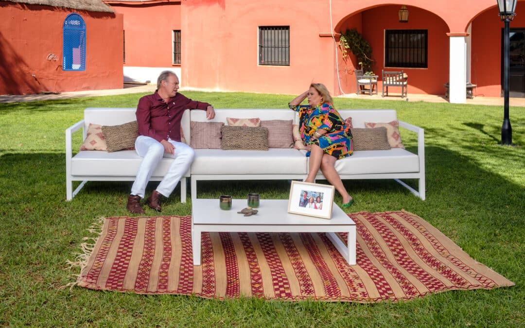 Bertín Osborne recibe a Carmina Barrios en su finca sevillana, en la nueva entrega de 'Mi casa es la tuya'