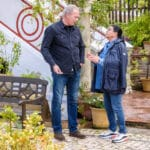 Bertín Osborne viaja a Cazalla de la Sierra para entrevistar a María del Monte en 'Mi casa es la tuya'
