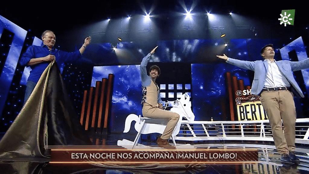 """Aires flamencos con Manuel Lombo en """"El show de Bertín"""""""