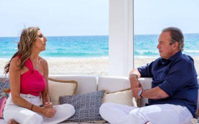 Bertín Osborne viaja a Zahara de los Atunes para entrevistar a Paz Padilla en 'Mi casa es la tuya'